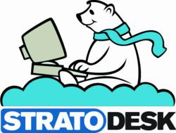 Logo of Stratodesk Corporation, the creator of NoTouch Desktop