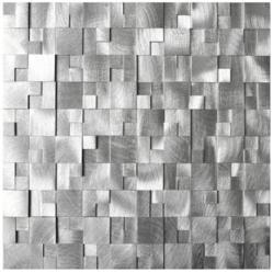 Eden Mosaic Tile Introduces Expanded Line Of Metal Backsplash Tile