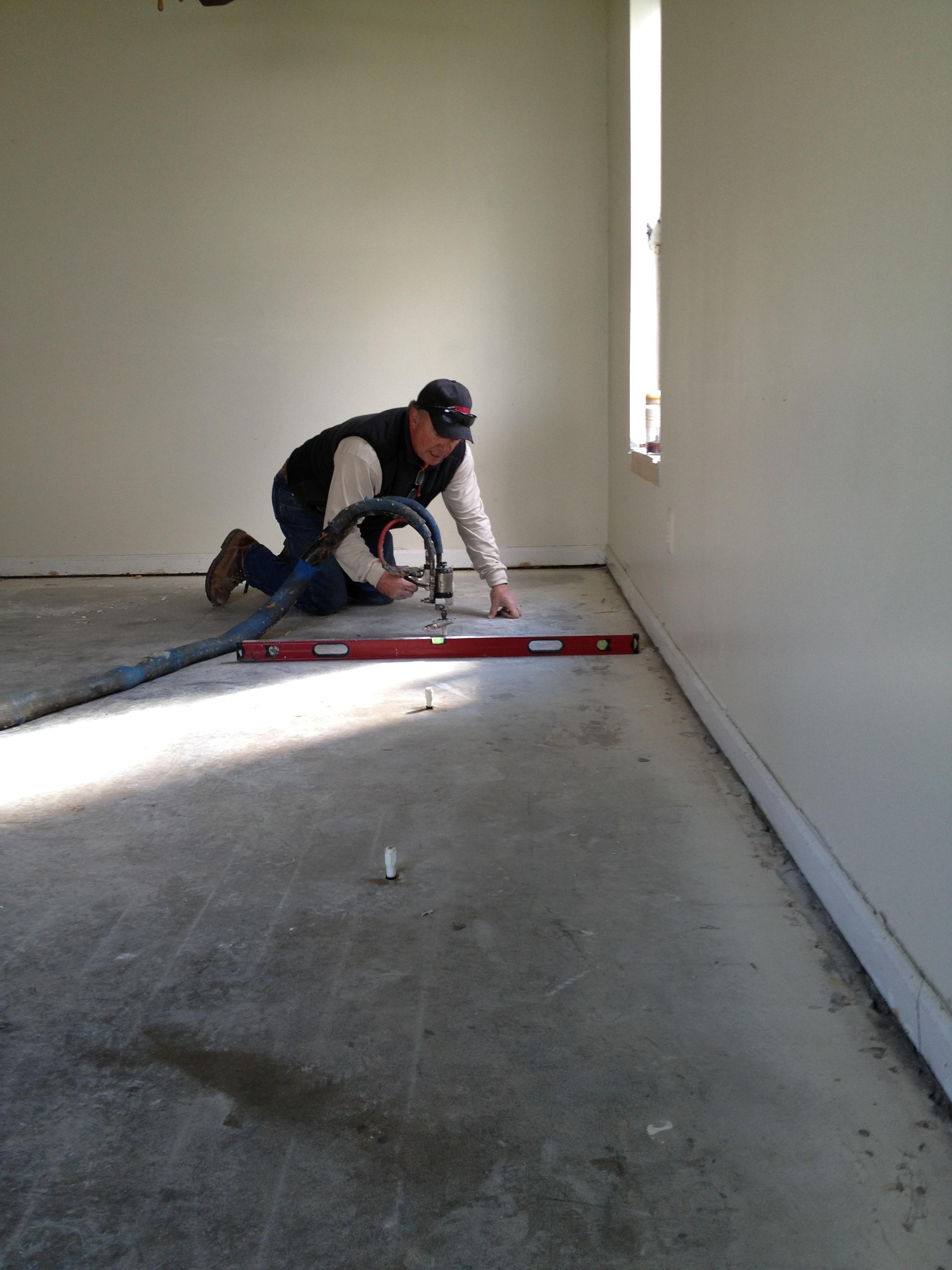 Concrete Jack Completes Slab Foundation Repair Project