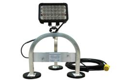 72 Watt LED Work Light with 3-Leg Magnetic Base Mount