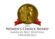 San Antonio Community Hospital Earns the Women's Choice Award for Excellence in Orthopedics