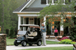The Club Car Precedent Signature Edition golf car makes stylish and affordable neighborhood transportation.