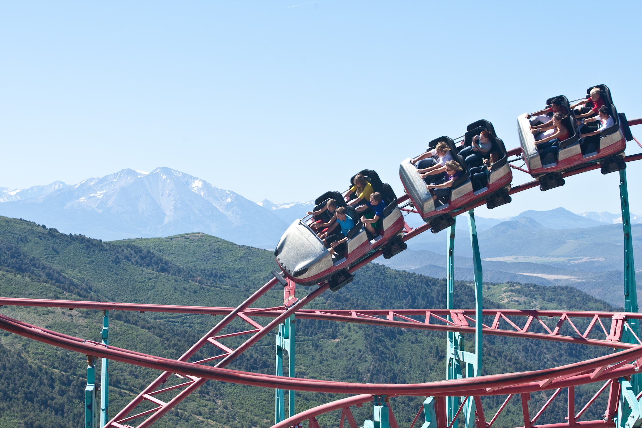 Rocky Mountain Roller Coaster Tour