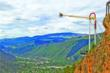 View from Exclamation Point at Glenwood Caverns