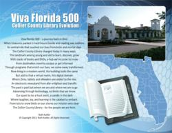 Naples FL Local Award-Winning Poet and Graphic Artist Contributes an Original Poem and Artwork for Viva Florida 500 Collier County Public Library Celebration