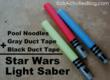 National Star Wars Day Is Coming Up; Celebrate With DIY Light Sabers...