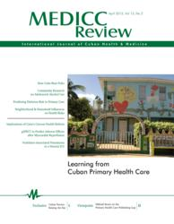 "MEDICC Review issue ""Learning from Cuban Primary Health Care"""