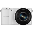 Samsung NX2000 Mirrorless Digital Camera with 20-50mm Lens (White)