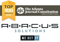 Abacus Solutions named Atlanta Journal Constitution 2013 Top 100 workplaces
