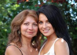 Mother and daughter picture