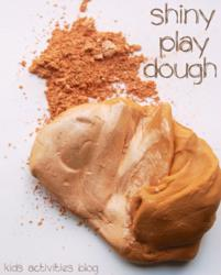 shiny play dough