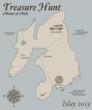 Master of Malt Islay treasure hunt map