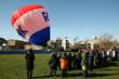RE/MAX Hot Air Balloon Visits Wildwood Elementary School in Edgebrook...