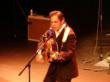 Corby Gallegos as Johnny Cash in Cash Up Front