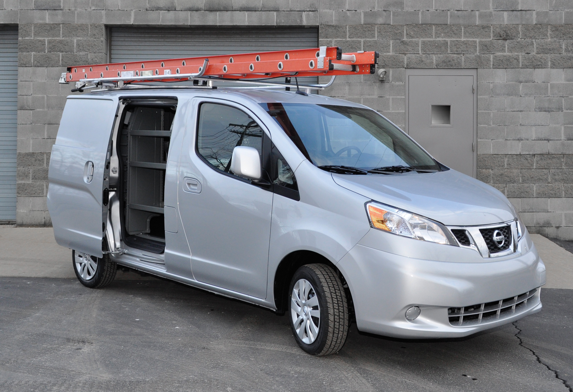 Nissan Cargo Van >> Adrian Steel Launches Product Line for the Nissan NV200 Compact Cargo Van, Cargo Management ...