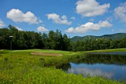 Mount Snow golf course and ski resort