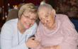 Goldie Miller with Margie Foster of Griswold Home Care