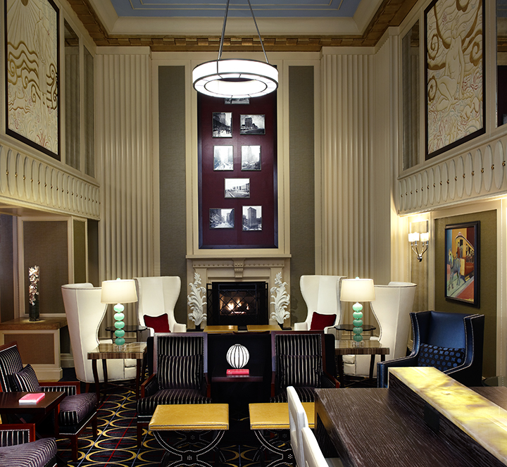 Kimpton 39 s hotel monaco chicago unveils renovation of new for Best hotel location in chicago