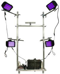 Portable 365NM Ultraviolet LED Light Cart with Adjustable Locking Arms
