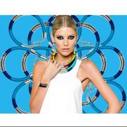 Trendy necklace and bracelet