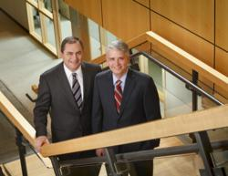 Bob Atwell and Mike Daniels, Nicolet National Bank