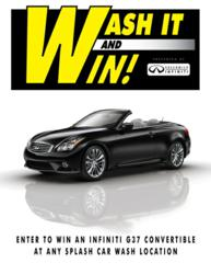 G37 Convertible Giveaway