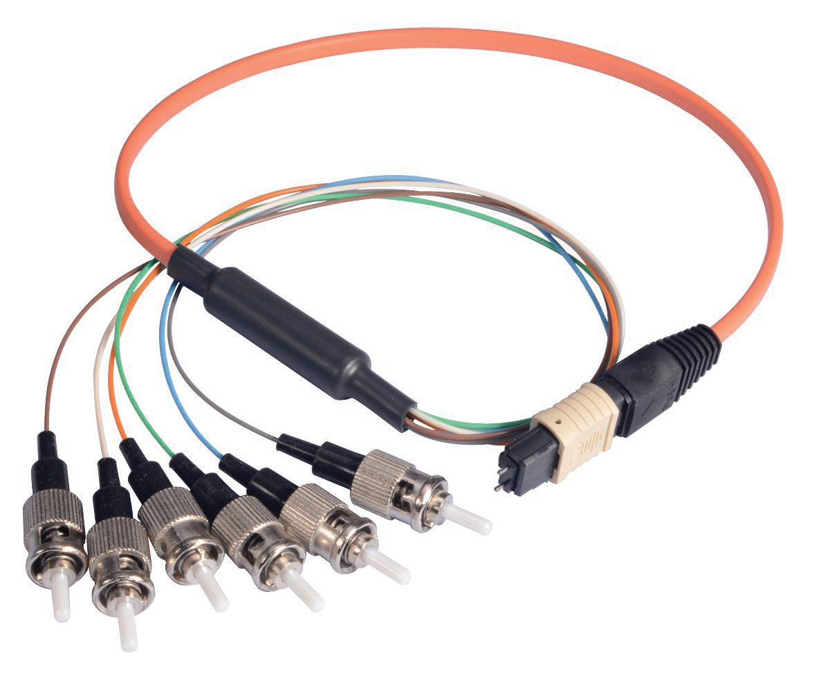 Fiber Optic Cable Assembly : L com adds mpo ribbon fiber options to online cable