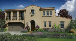 Future residence at Brookfield Residential's Seaside Ridge Community in Encinitas, CA.
