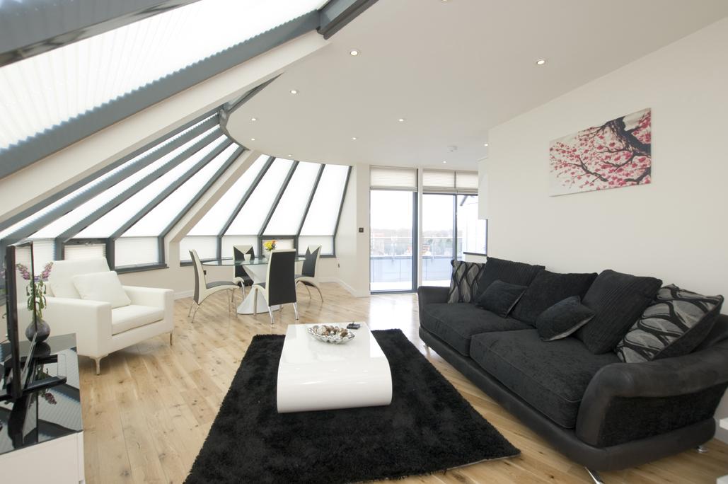 Elegant PenthousePenthouse Living Room