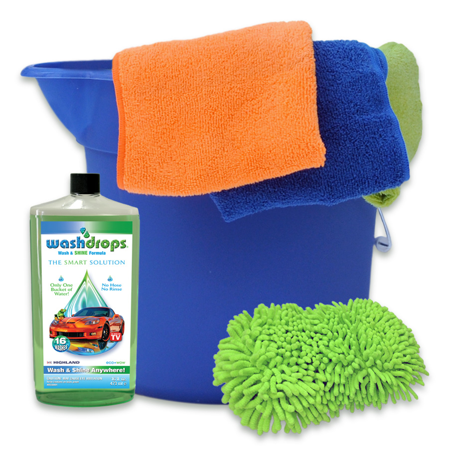 Make Car-Washing Environmentally Friendly This Summer With