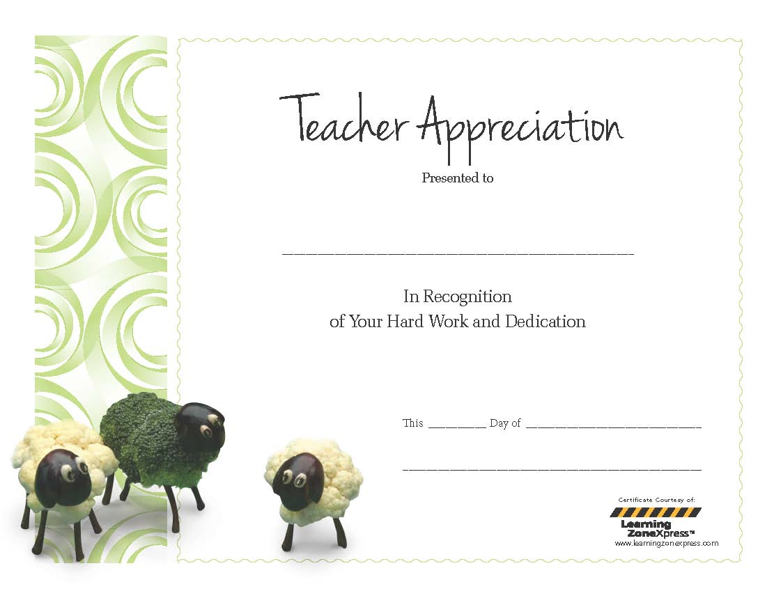 Appreciation certificate for teachers etamemibawa celebrate school nutrition employee week and teacher appreciation yadclub Images