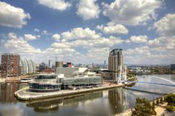 Salford has experienced a property boom following the BBC's move to the Quays
