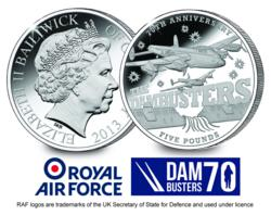 The Dambusters 70th Anniversary £5 Coin