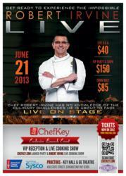 ChefKey Presents Robert Irvine Live