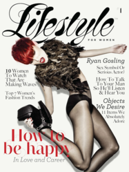 Women's iPad Magazine Cover - Lifestyle For Women