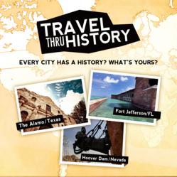 Travel Thru History Promotional Poster