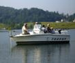 guide and fishermen on Norris Lake