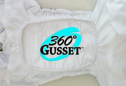 Glow Bug Cloth Diapers' 360° Gusset Diapers
