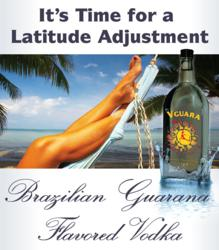 V-Gaura Brazilian Guarana Flavored Vodka