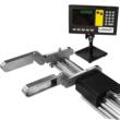 """Like Large Calipers, the LDMD Measure Up to 465"""" Quickly and Easily."""