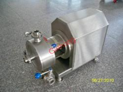 production inline homogenizer