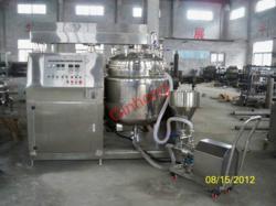 production vacuum emulsifier mixer