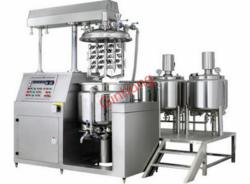 production vacuum homogenizer mixer