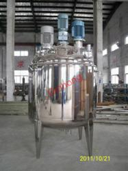 closed triple shaft mixer
