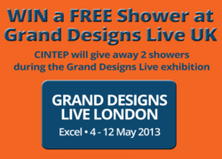 CINTEP discount voucher and FREE shower system