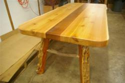 Timber Mantels Rustic Wood Table