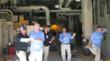 Mercy facilities maintenance co-workers in Ardmore, Okla., show their dance moves.