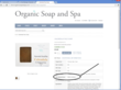 Organic Soap and Spa Calendula Ayurvedic Facial Soap Product  page Showing Special Skin Issues Field