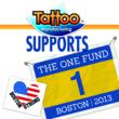 Tattoo  Manufacturing International supports Boston One Fund.