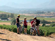 Bikers make a pit stop on the Cape Town Cycle & Culinary Safari